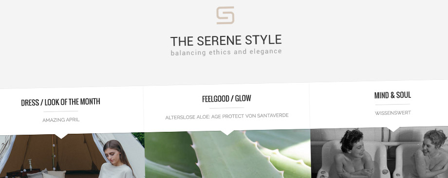 Referenz - The Serene Style Blog